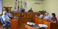 Vereadores reúnem-se em mais uma sessão plenária ordinária